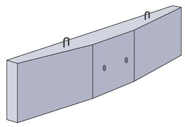 Ригель 3D модель
