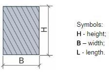 Rectangular beams