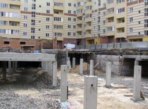 Буд-во підземного паркінгу ЖК «Гетьман Виговський» в м. Рівному з використанням збірних з/б конструкцій вир-ва «Обербетон»