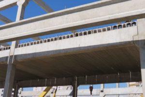 Влаштування перекриття з використанням пустотних плит перекриття висотою 400 мм виробництва «Обербетон»