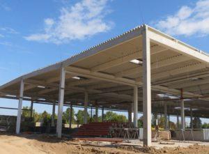 Будівництво будівельно-господарського гіпермаркету «Епіцентр»