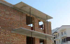 Монтаж ж/б балконних плит індивідуального проектування та вир-ва «Обербетон»