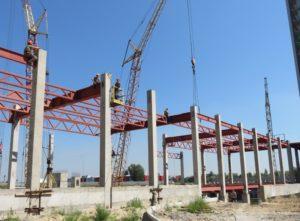 Будівництво ТРЦ «Атмосфера» (м. Київ) з використанням залізобетонних конструкцій виробництва «Обербетон»