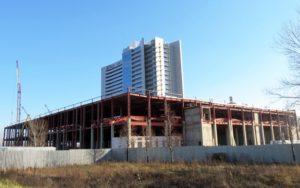Будівництво ТРЦ «Атмосфера», що входить до складу БФК «Домосфера», м. Київ