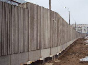 Фактурні стінові панелі для влаштування підпірних стін при будівництві ТРЦ «Там-Там», м. Луцьк