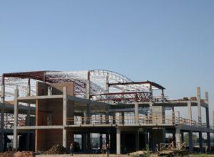Будівництво нового міжнародного пасажирського терміналу «А» аеропорту «Київ» (Жуляни)