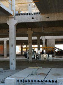 Влаштування перекриття нового терміналу аеропорту «Київ» (Жуляни) з використанням пустотних плит виробництва «Обербетон»