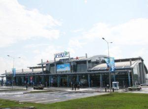 Новий міжнародний пасажирський термінал «А» аеропорту «Київ» (Жуляни)