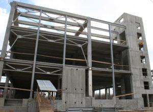 Будівництво цеху бортового харчування в МА «Бориспіль» з використанням збірних з/б конструкцій виробництва «Обербетон»