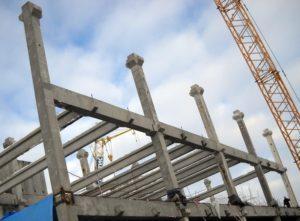 Будівництво цеху бортового харчування в МА «Бориспіль» з використанням збірного з/б каркасу виробництва «Обербетон»