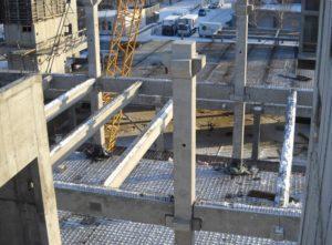 Використання збірних з/б конструкцій при будівництві цеху бортового харчування в Міжнародному аеропорту «Бориспіль»