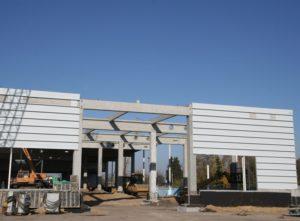 Будівництво центру оптової торгівлі METRO в м. Житомир