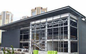 Сходові марші індивідуального проектування для будівництва ТЦ «NOVUS»