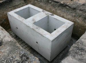 Спарений фундаментний стакан виробництва «Обербетон»