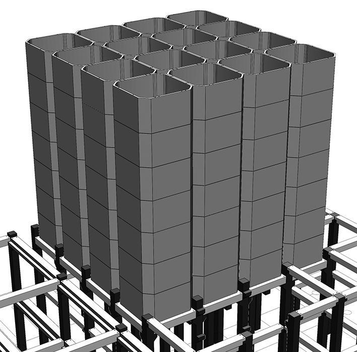 Збірні залізобетонні конструкції елеваторних ємностей (ЗОГ)