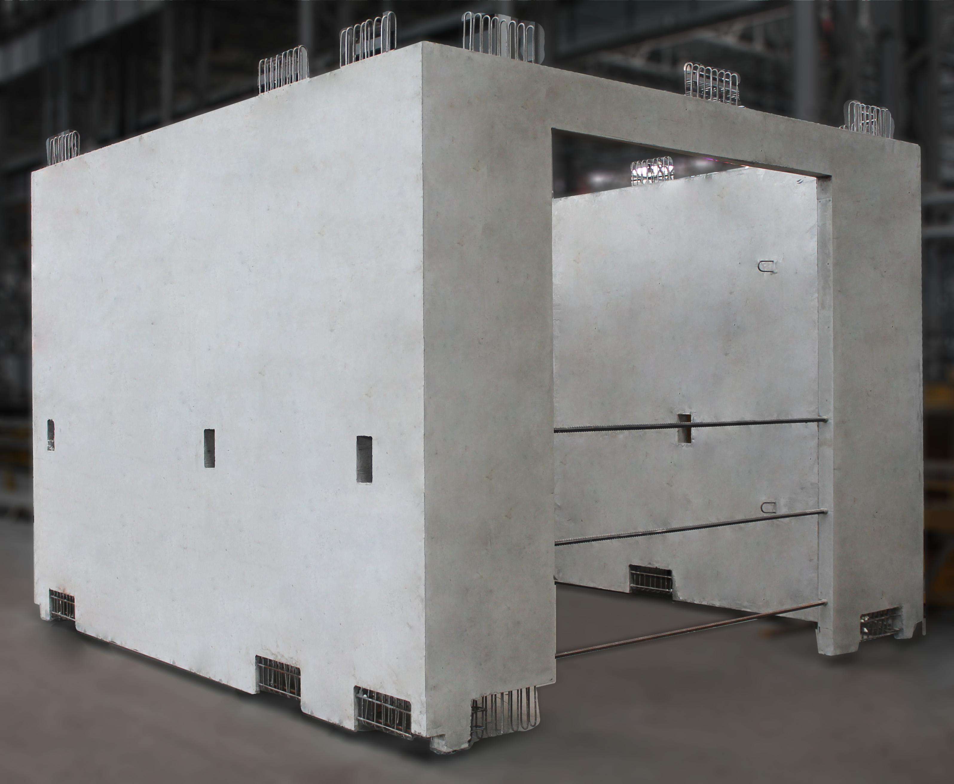 Збірні залізобетонні секції ліфтових шахт