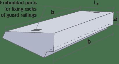 Набірні залізобетонні східці креслення параметри