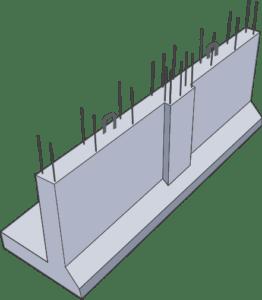 підпірні стінки Обербетон схема