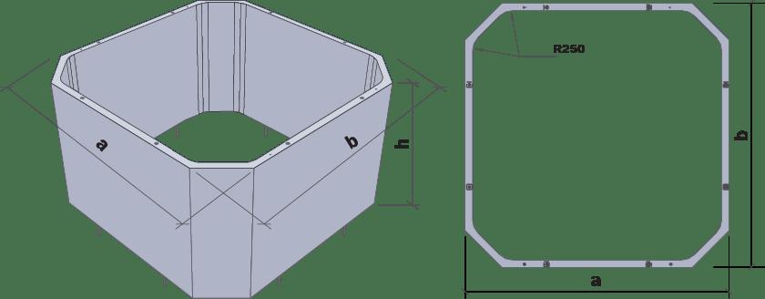 Збірні залізобетонні конструкції елеваторних ємностей