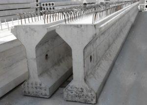 Попередньо напружені залізобетонні мостові балки виробництва «Обербетон»