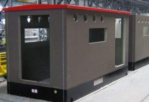Бетонний корпус для комплексної трансформаторної підстанції