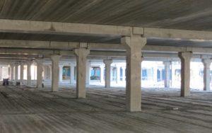 Змонтовані перекриття з пустотних плит вир-ва «Обербетон»
