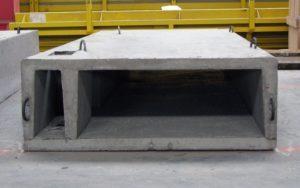 Залізобетонний вентиляційний блок виробництва «Обербетон»