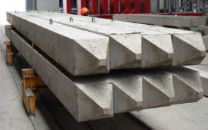 Залізобетонні палі квадратного перерізу виробництва «Обербетон»