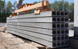 Пустотні плити перекриття товщиною 320 мм виробництва «Обербетон» із монтажним захватом