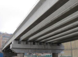 залізобетонні мостові балки