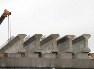 Попередньо напружені мостові балки виробництва «Обербетон»