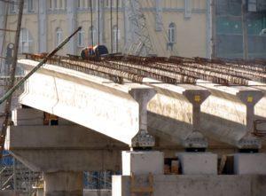 попередньо напружені мостові балки