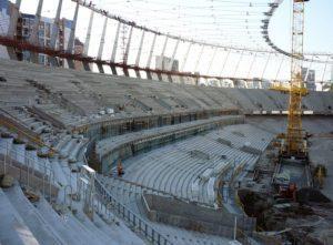 Реконструкція Національного спорткомплексу «Олімпійський», м. Київ