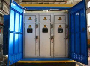 Бетонна трансформаторна підстанція з вмонтованим устаткуванням