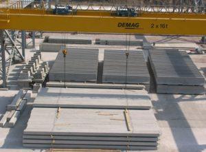 Склад готової продукції заводу «Обербетон», м. Житомир