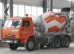 Автобетонозмішувач заводу «Обербетон»