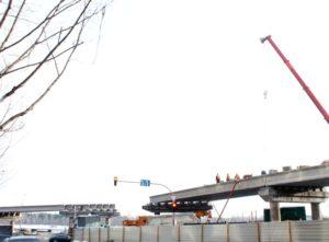 Реконструкция развязки на Почтовой площади в Киеве с применением преднапряженных мостовых балок пр-ва «Обербетон»