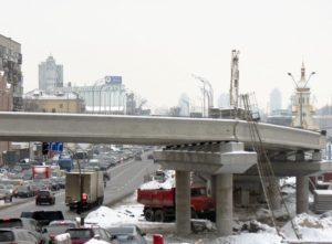 Реконструкция развязки на Почтовой площади, г. Киев мост фото